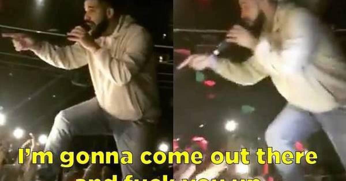 Drake Halts Performance To Reprimand Fan For Groping Women