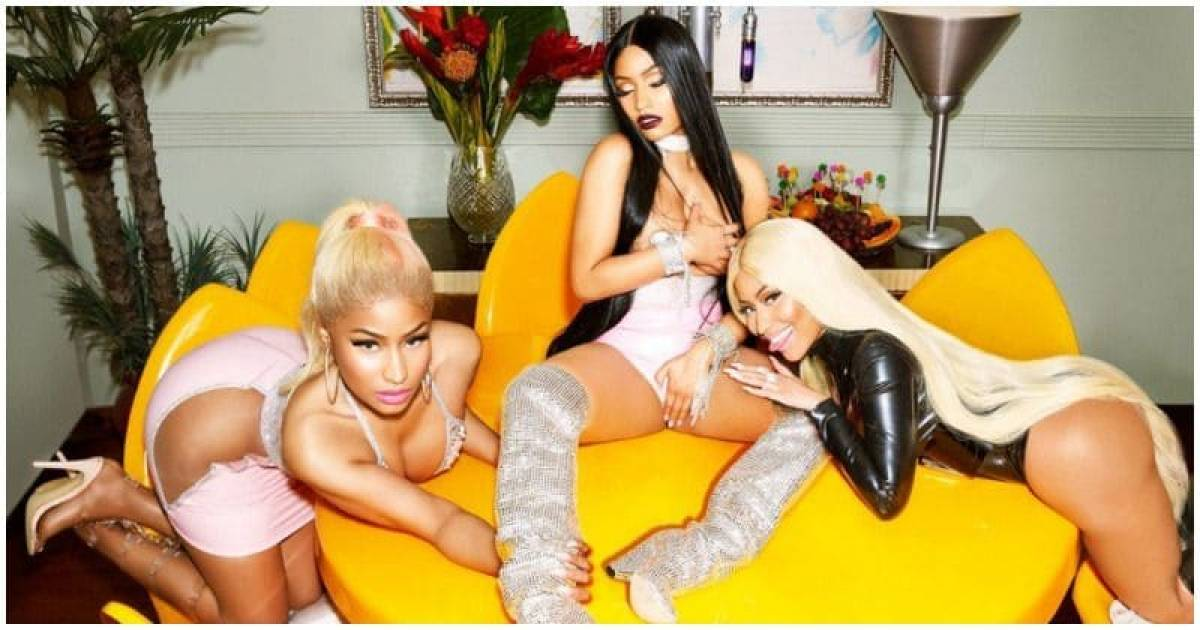 Nicki Minaj Breaks The Internet So Hard With Her Paper Magazine Cover That Even Kim Kardashian Takes Note