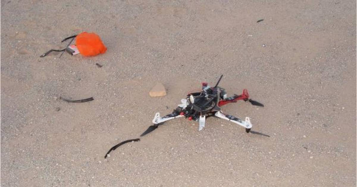 Drone Delivering Drugs And Cell Phones To Inmates Crashes In Prison Yard