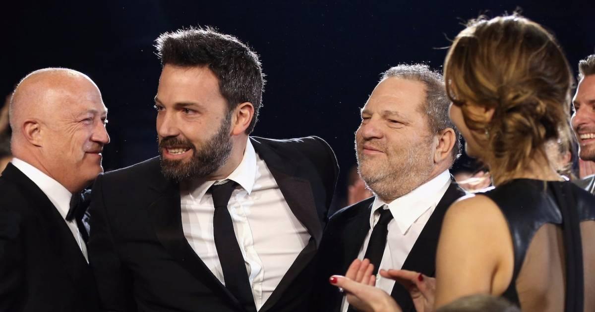 Ben Affleck Dodges Question About Rose McGowan's Claim That Harvey Weinstein Raped Her