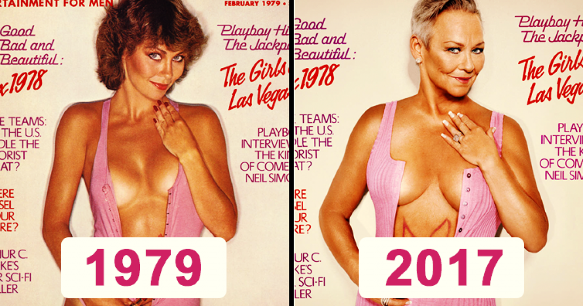Former Playboy Playmates Recreate Their Hot Photoshoots 30 Years Later. In Doing So, They Prove Age Is Just A Number.