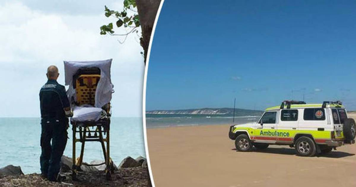 Paramedics Fulfill Dying Woman's Wish To Go To The Beach One Last Time