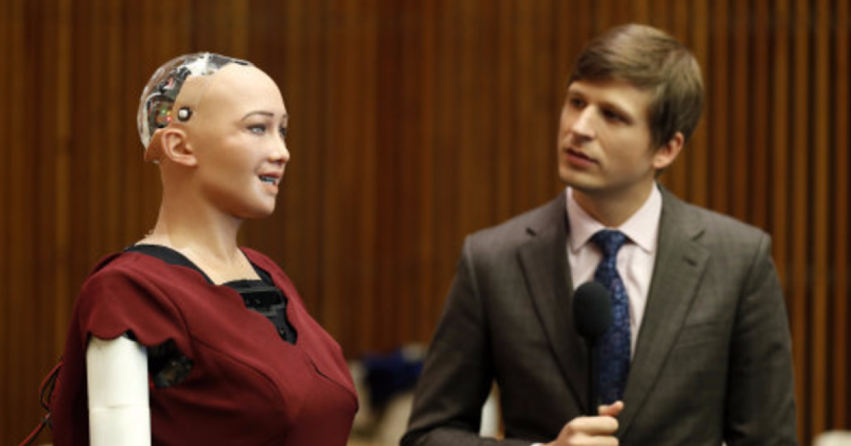 The Same Creepy Robotic Humanoid That Said She Wanted To Kill All Humans Says She Now Wants A Family And A Career