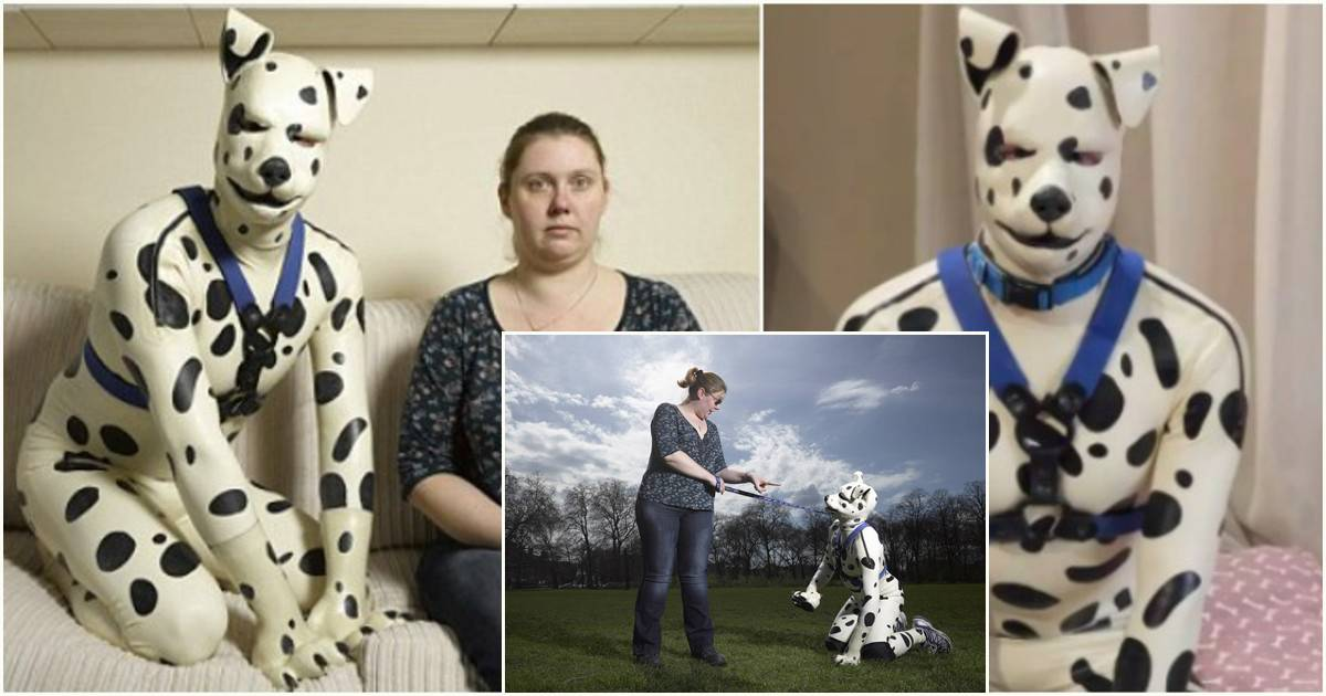 This Grown Man Lives His Life As A Dalmatian With His Ex-Fiance As His Owner
