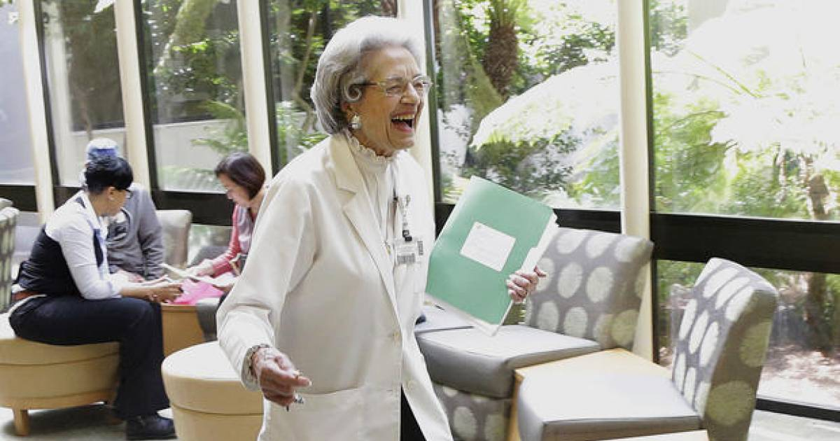 91-Year-Old California Woman Celebrates 71 Years Working At The Same Company