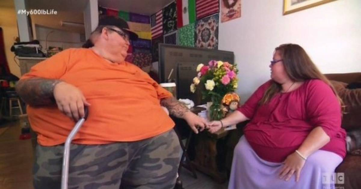 Morbidly Obese Couple Go On A Mission To Lose Weight So They Can Finally Have Sex