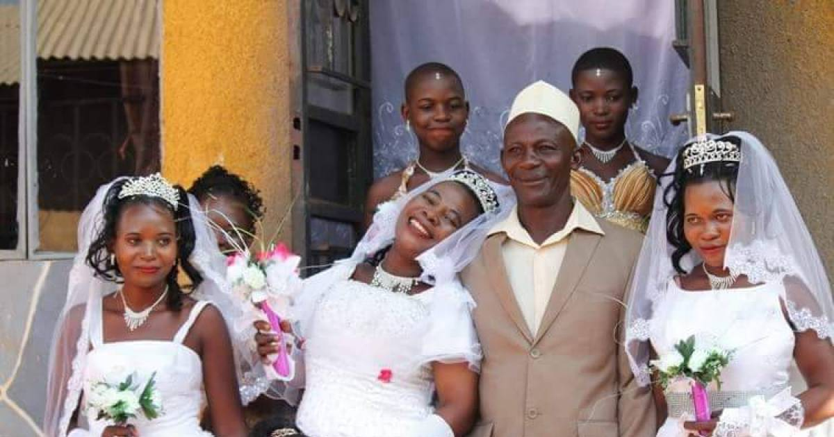 Man Marries Three Women All At Once Because He Couldn't Afford Three Ceremonies