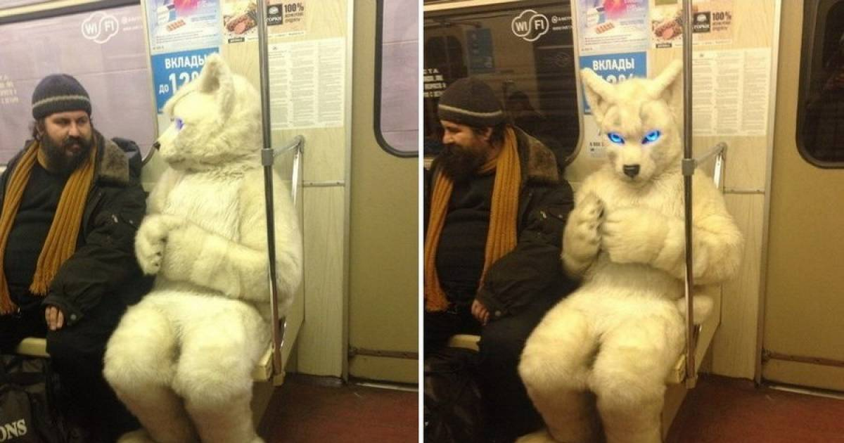 The Strangest Subway Fashion That You Will See Today