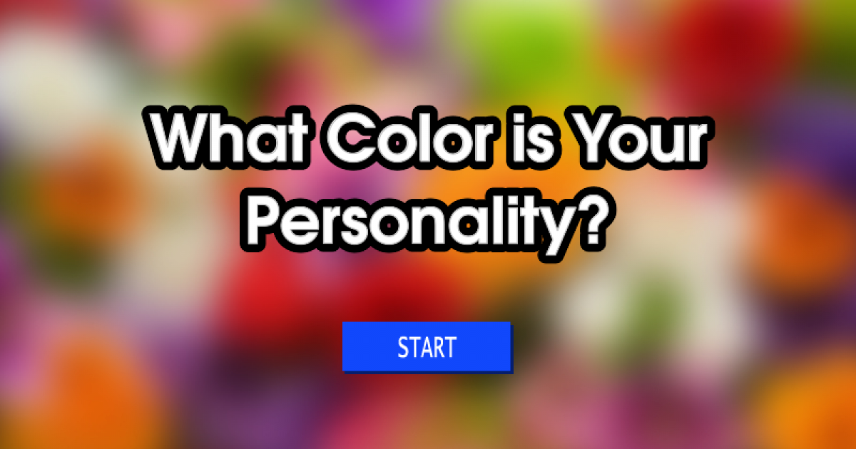 The First Color You See In This Test Will Tell About Your Personality