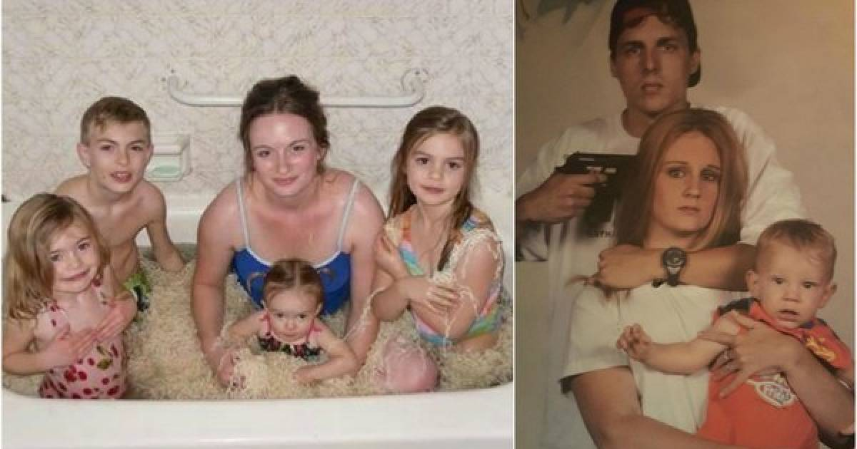 8 Cringeworthy Family Pictures That Will Make You Feel Like Your Family Is Normal