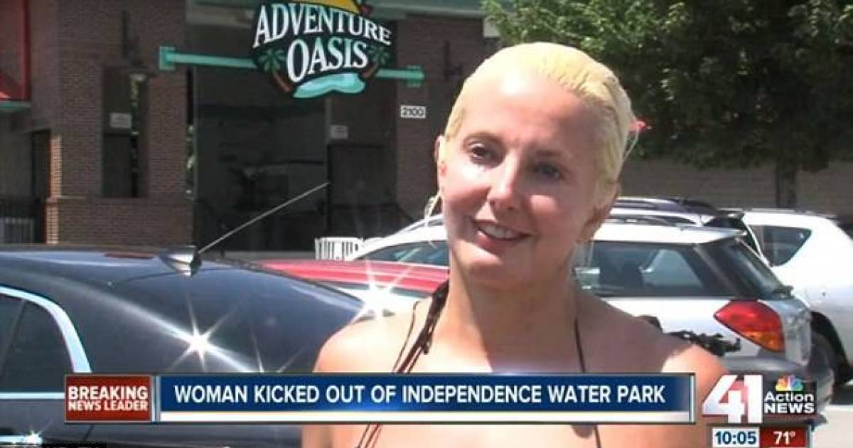 Woman Wears 2-Piece Bathing Suit And Is Kicked Out Of Water Park