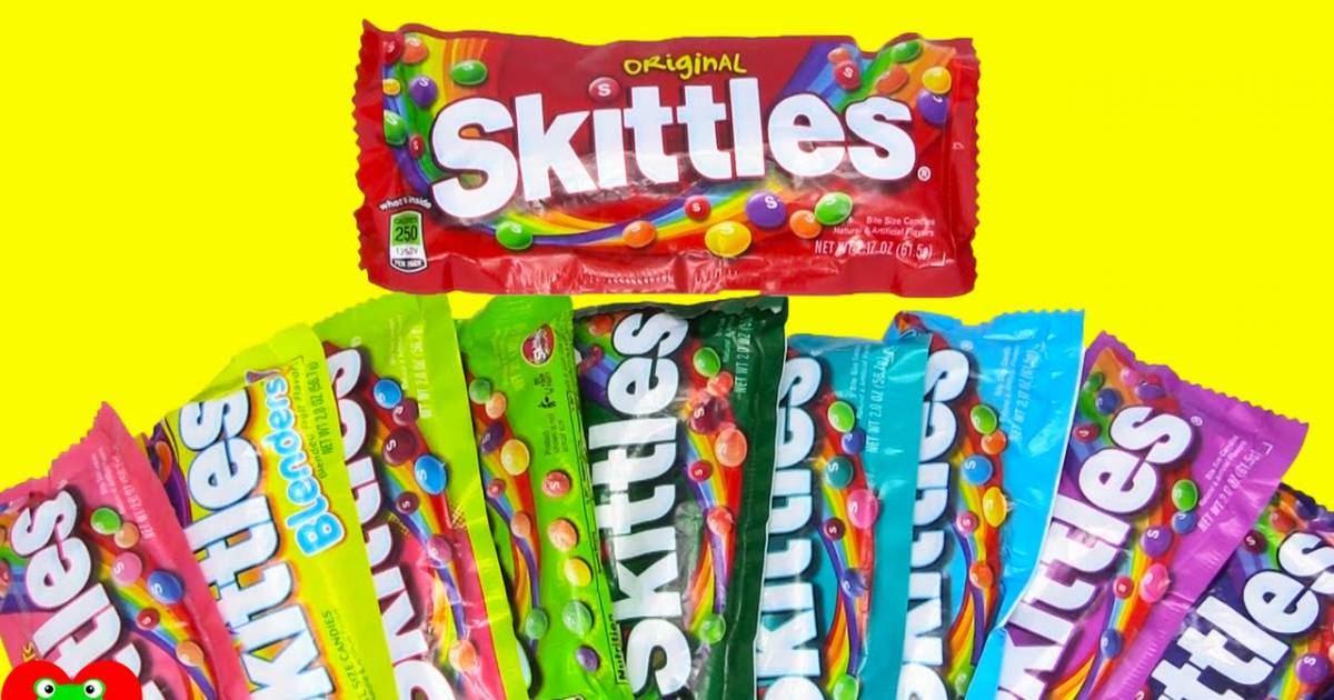 All Colors Of Skittles Taste Exactly The Same According To The Scientist