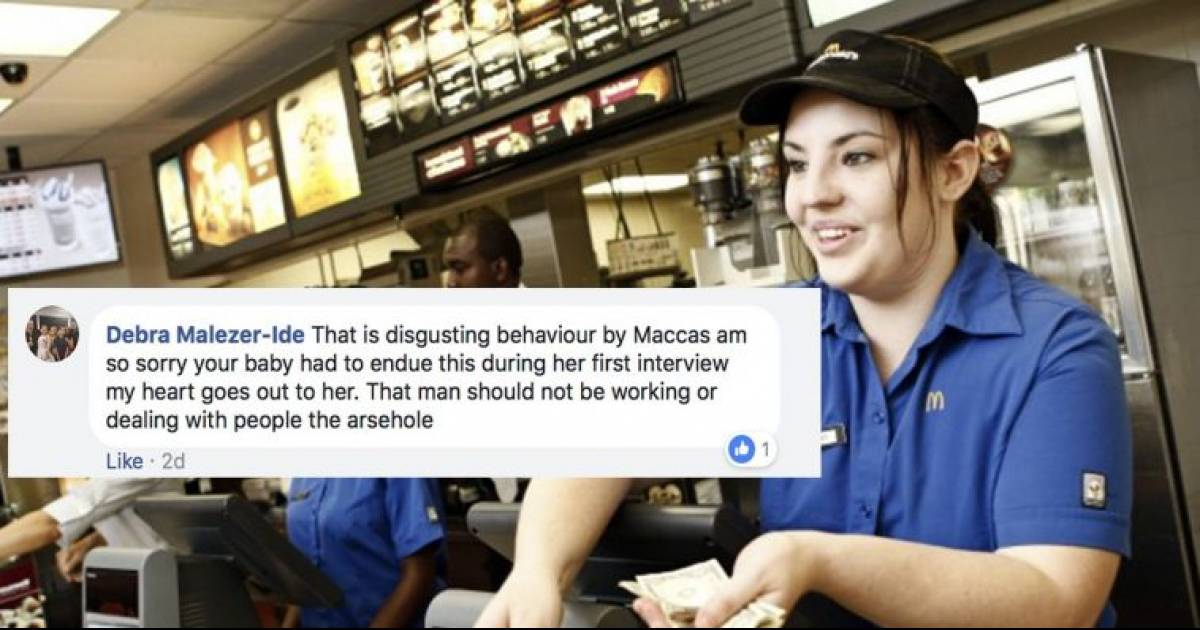 Mom Bashes McDonald's Publicly After Daughter Goes Through An Uncomfortable Interview