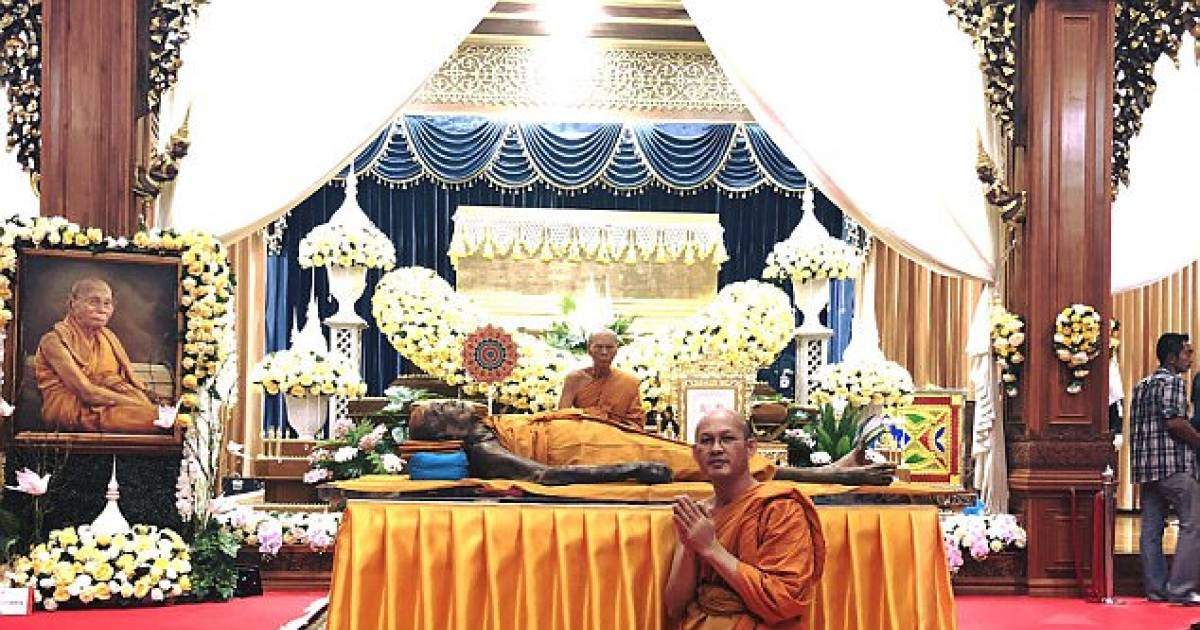 Buddhist Monk Appears To Smile After Death