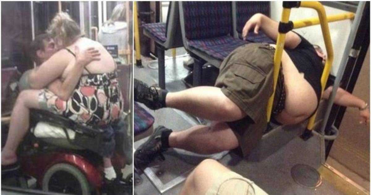 16 Photos Of The Absolute Worse People You Can Encounter On Public Transportation