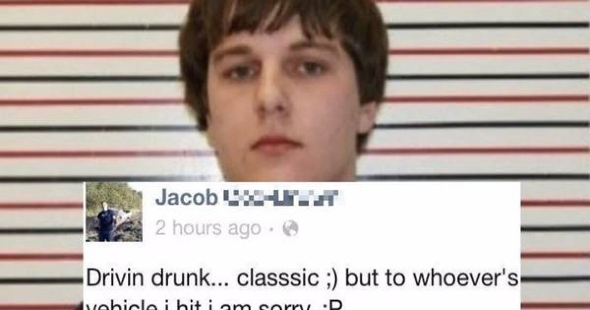 Eight Criminals Who Were So Dumb That They Got Caught After Telling On Themselves On Social Media