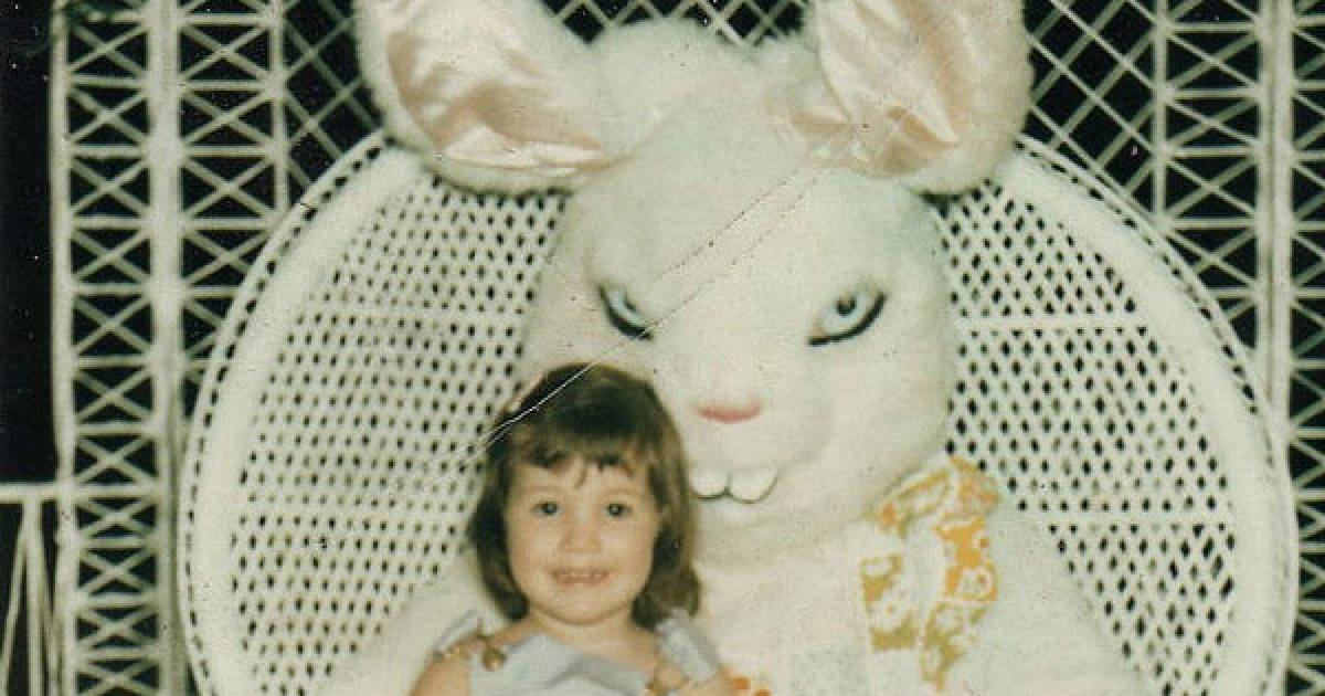 Easter Bunnies That Are Truly The Stuff Of Nightmares