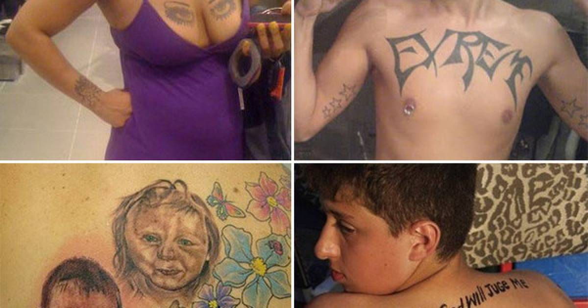 Terrible Tattoos To Make You Think Long And Hard About Your Next Ink Session