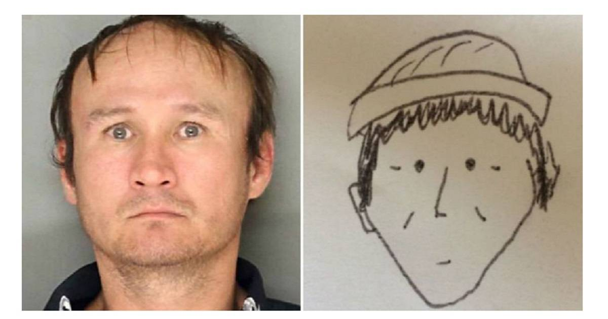 This Hilariously Bad Police Sketch Actually Helped Cops Catch Suspect