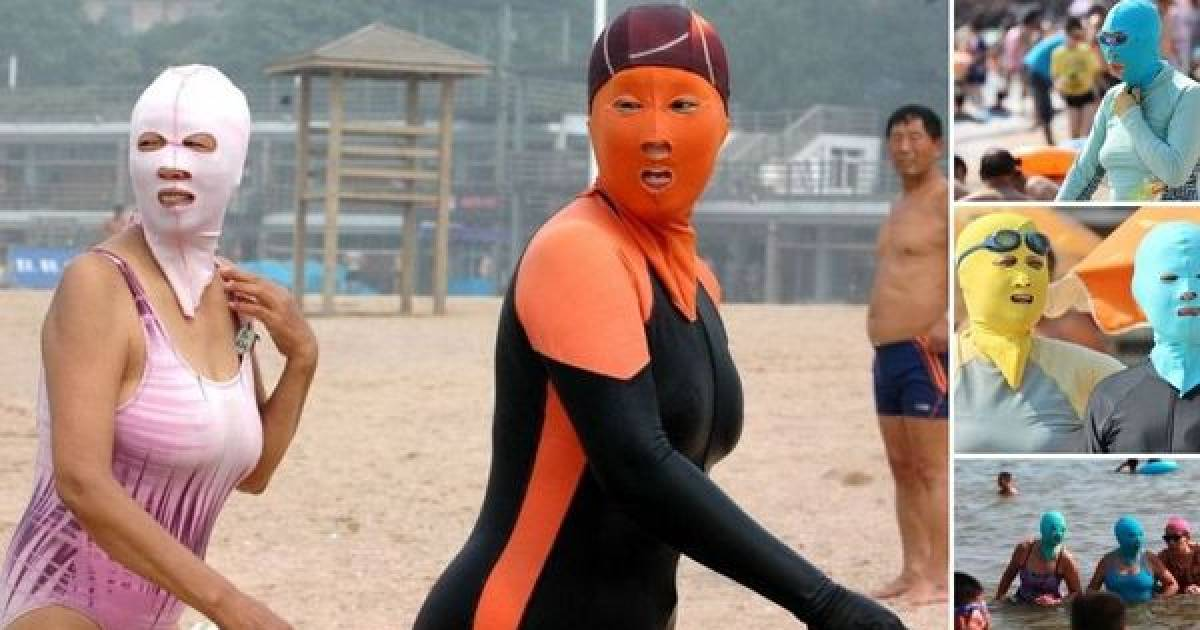Bizarre Chinese Swimwear That Is Just Too Crazy