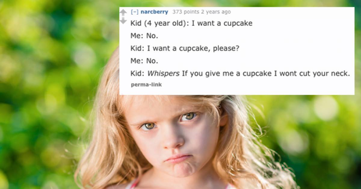 These Could Be The Creepiest Things That Kids Have Ever Said To Their Parents