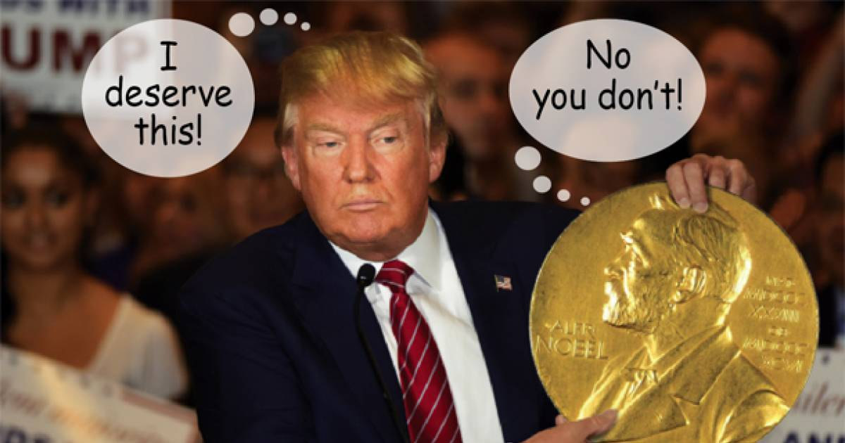 Donald Trump Has Been Nominated For The 2018 Nobel Peace Prize