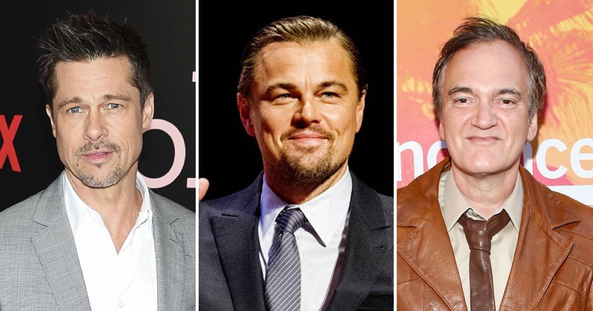 "Brad Pitt And Leonardo DiCaprio Will Be Staring Together In Quentin Tarantino's Upcoming Film ""Once Upon A Time In Hollywood"""