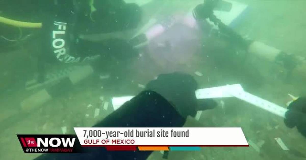 7,000-Year-Old Burial Site Found Underwater In The Gulf Of Mexico