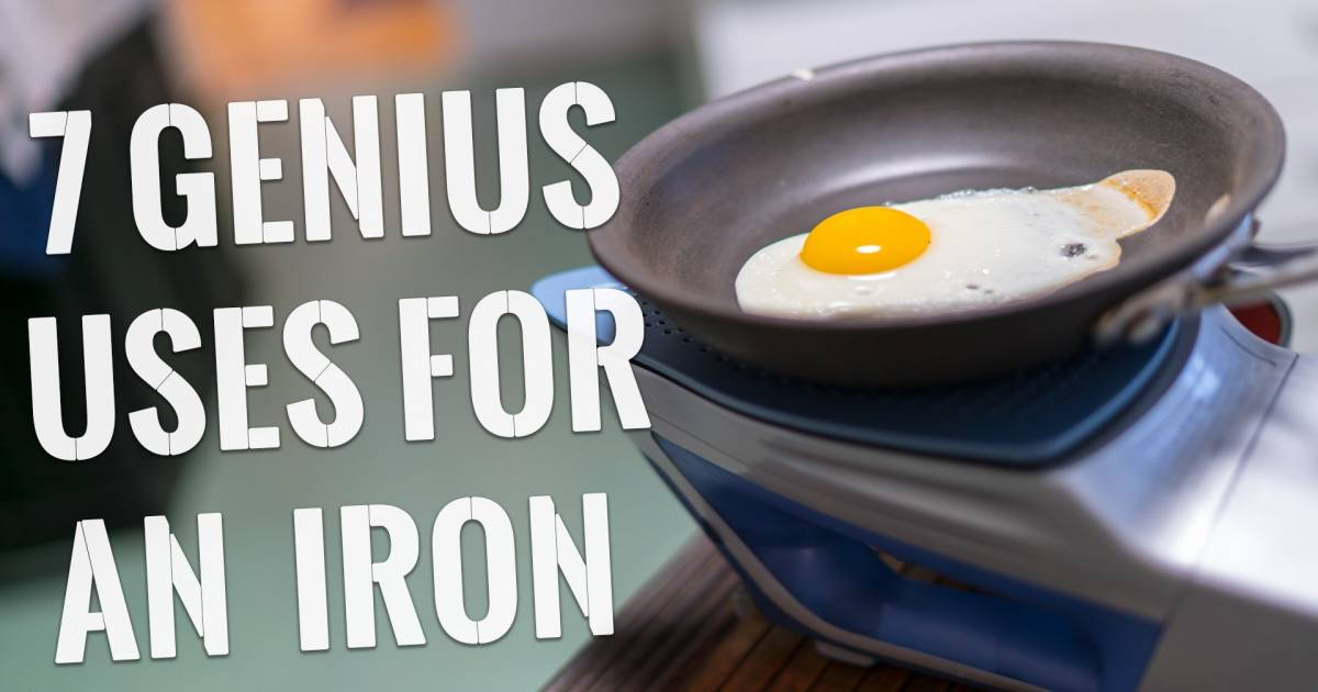 Amazing Useful Hacks That Will Change The Way You Use An Iron