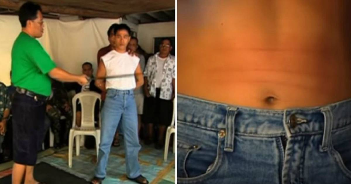 Shocking Footage Shows Filipino Spiritual Group Hacking Members With Machetes To Give Them 'Bulletproof Powers'