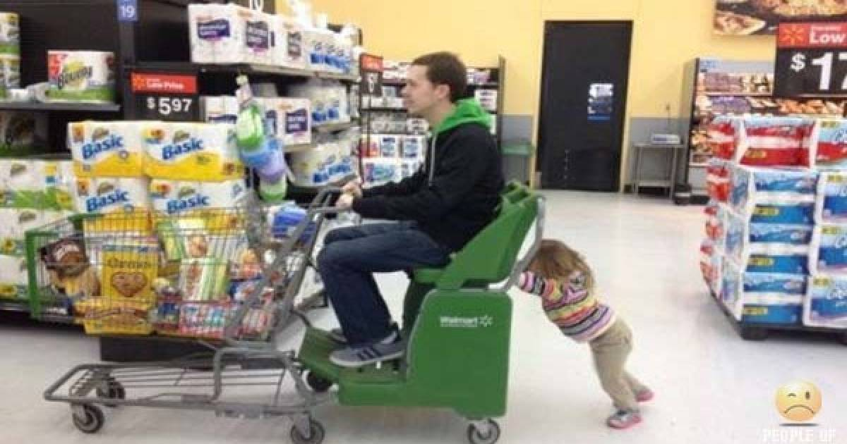 There Is Never A Time When The People Of Walmart Are Not Entertaining