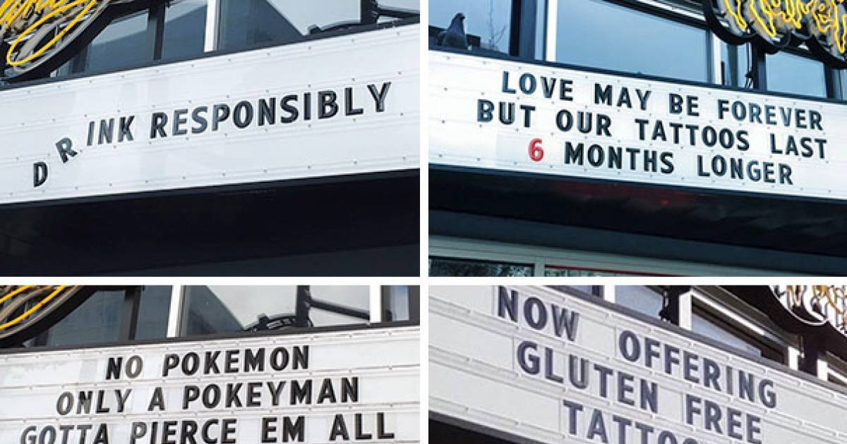 Shop Owners Who Have An Amazing Sense Of Humor