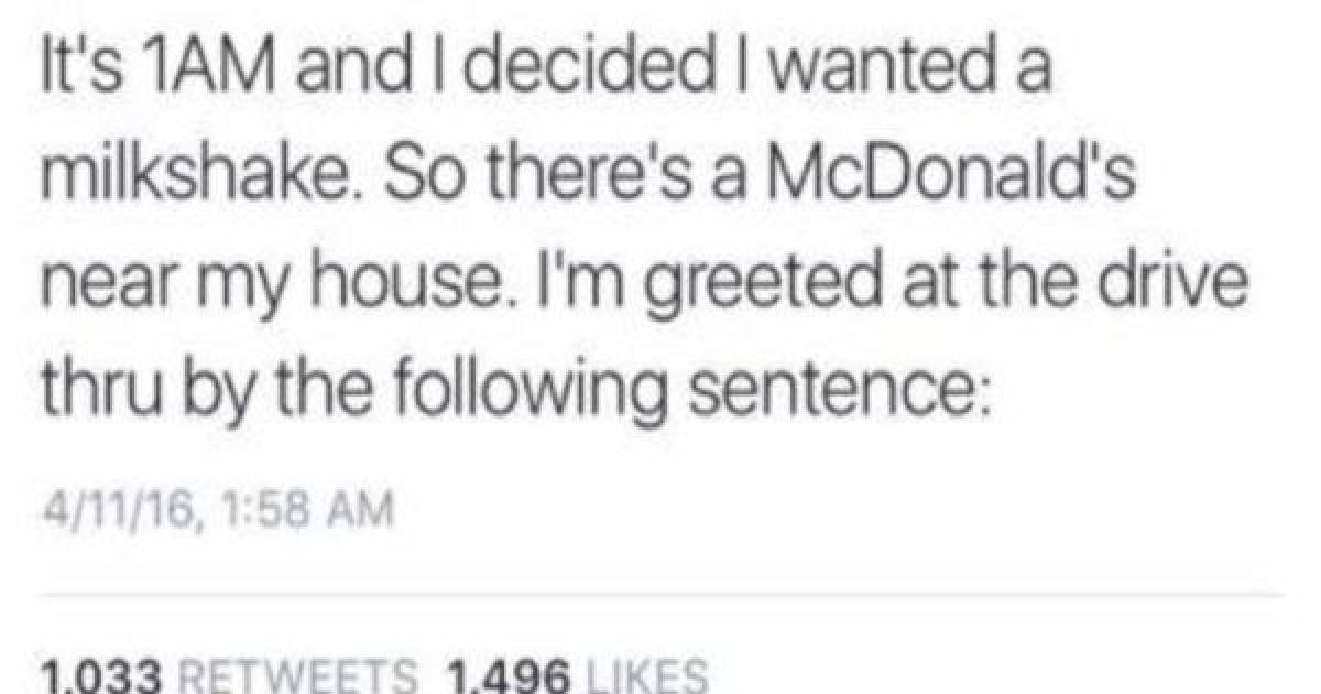 This Guy's Entire Trip To McDonald's Is One Epic Fail