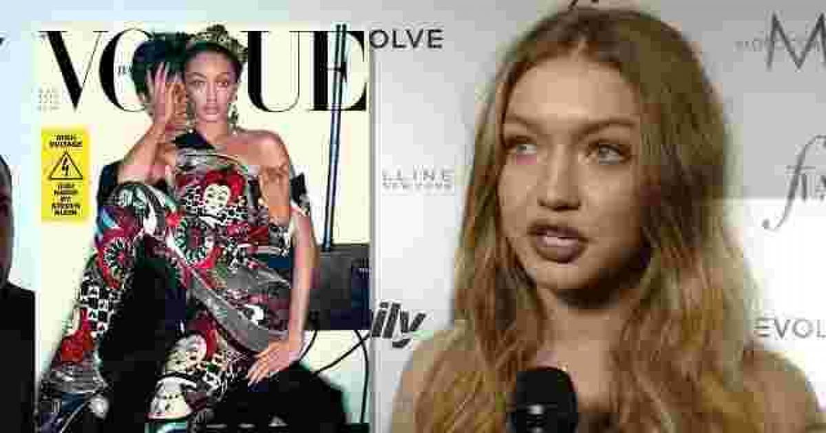 Gigi Hadid Apologizes After Facing Backlash Over Vogue Italia's Cover, Says The Criticism Is Valid