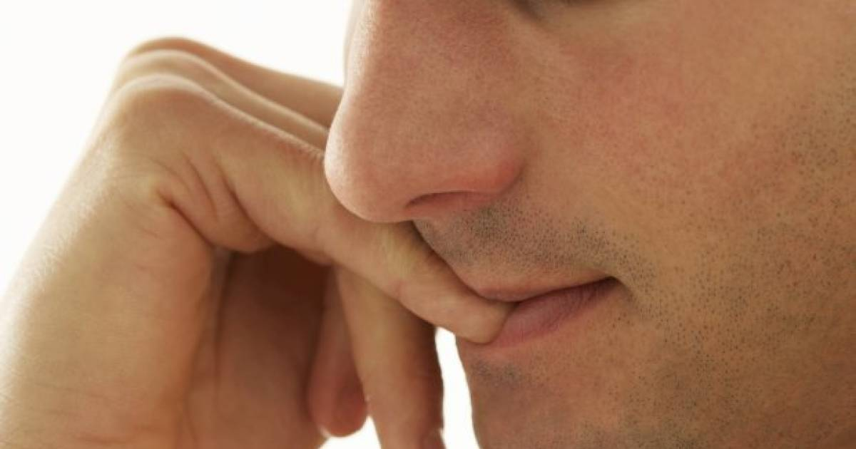 A Man Nearly Died From Biting His Fingernails