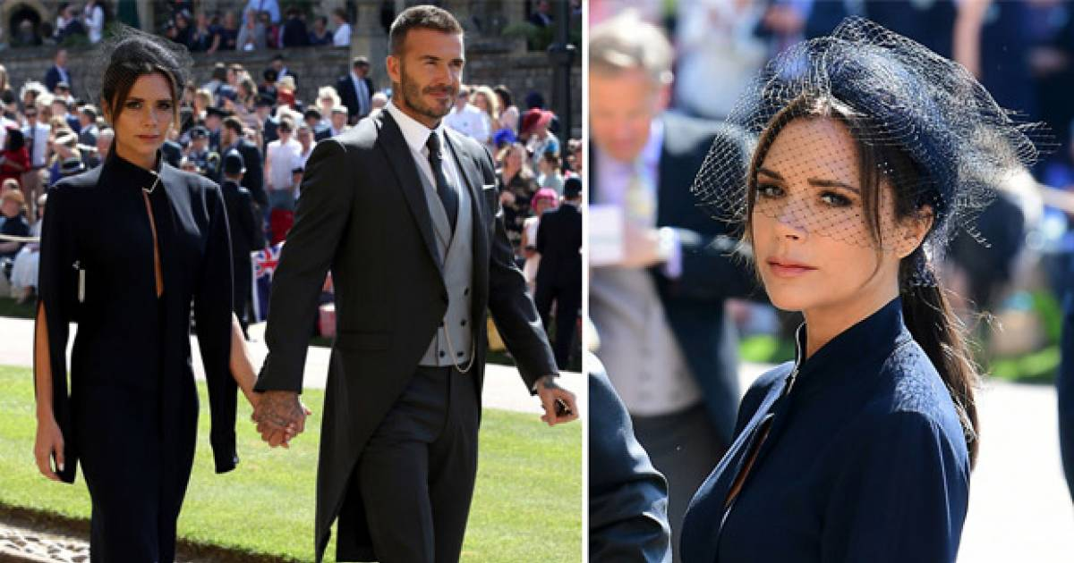 Fans Bash Victoria Beckham For Looking Mournful At The Royal Wedding