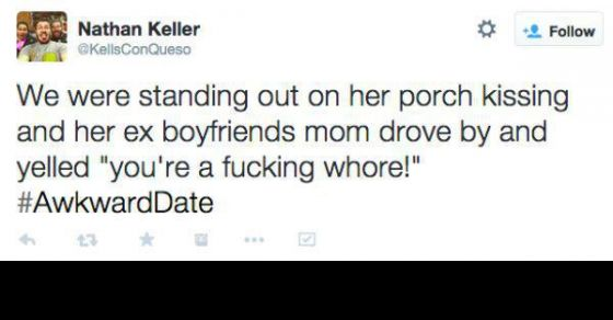 20 Awkward First Date Tweets That Doesn't Need Any Explanation.