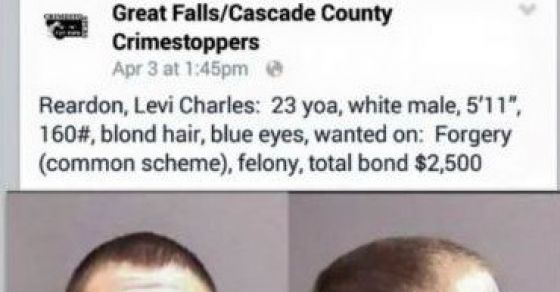 When This Man's Wanted Poster Went Up On Facebook, He Did Something Really Dumb