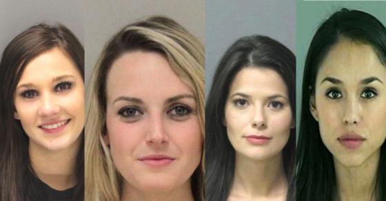 20 Mugshots of Women Who Look More Like Models Than Criminals