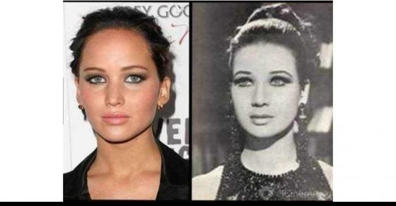 21 Amazing Celebrity Photos With Their Lookalikes From History #4 is AWESOME