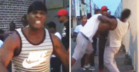 """Internet Sensation Tyrone Gets Punched In Face After Telling Group Of Guys He Will """"F*ck Your Wife"""""""
