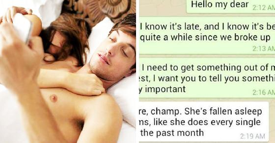 Guy Texts His Ex Only To Have Her New Boyfriend Respond. What Follows Is Something No Boyfriend Ever Wants To Hear!