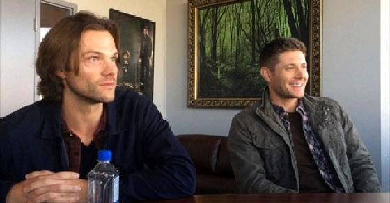 Jared Padalecki & Jensen Ackles On Shooting 'Supernatural's' 'Baby' Episode.