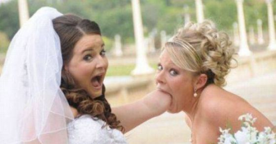 41 Weird Wedding Pictures That Will Leave You Absolutely Speechless