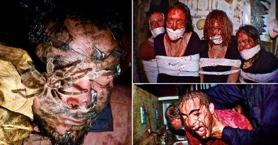 Could You Last The Night In The World's Scariest Horror House? No-one has ever made it through!!