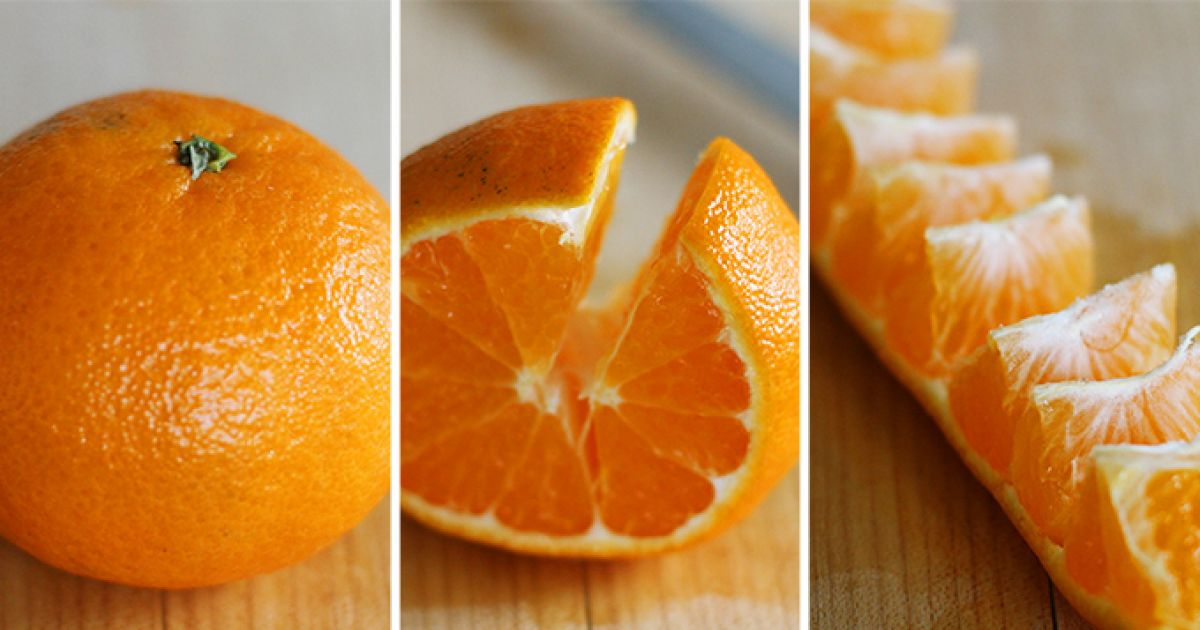 Oranges Are Too Damn Good To Fight With... Here's An Easier Way To Peel Those Suckas: