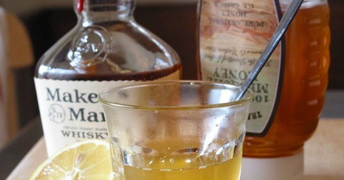 This Bourbon Cough Syrup Is An Awesome Home Remedy For The Flu