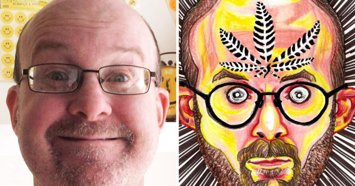 Artist Creates Self Portraits While High On A Different Drug For Each Drawing