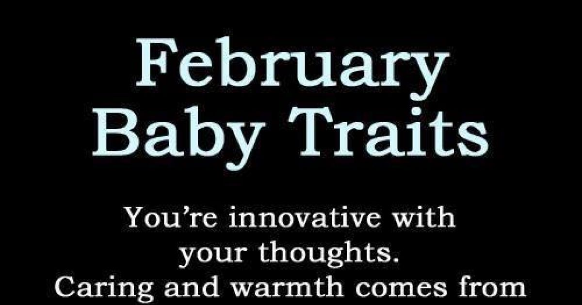 Traits According To Your Birthday Month!
