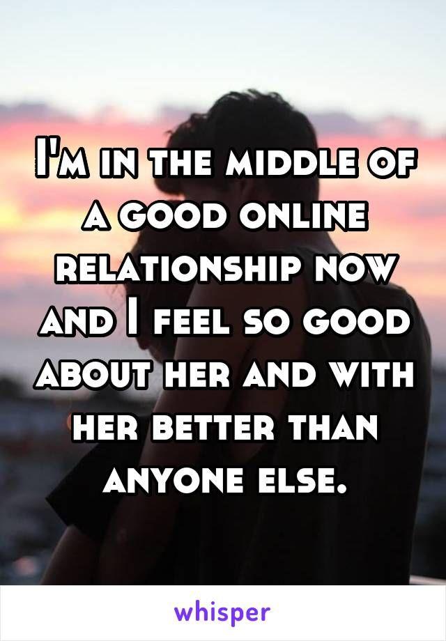 he is always online dating